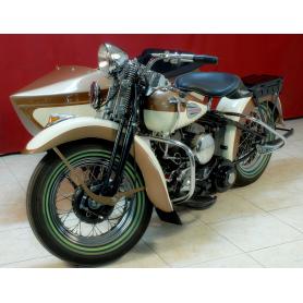 Motocicleta HARLEY DAVIDSON 750cc.