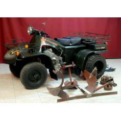 Quad/tractor 3NM 6. 901, 1980.
