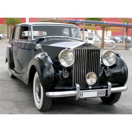 Rolls Royce Silver Wraith. 1951. Motor: BMW Diesel.