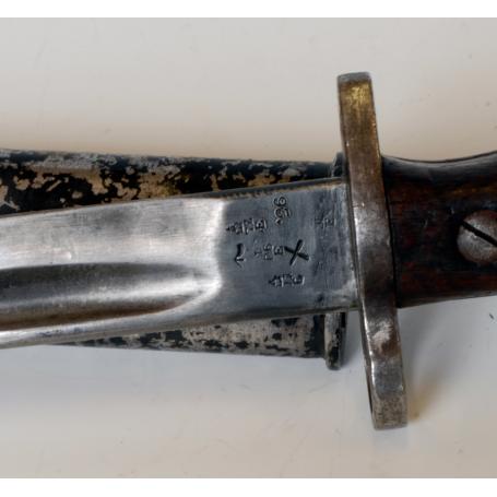 Bayoneta inglesa, para fusil Enfield c.1907.