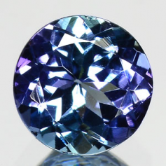 COULEUR BLEU NATUREL TANZANITE