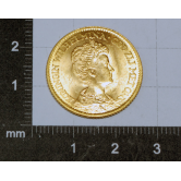 Moneda 1911 en oro