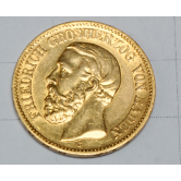 Moneda 1894 en oro