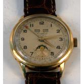 Reloj de pulsera  en oro de ley. MARCA: Cortebert.