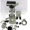 Microscopio y cámara