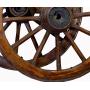 Pareja de ruedas de carro. Siglo XIX.