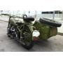 Moto avec sidecar M72 IMZ