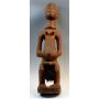 Figura femenina africana, del pueblo baulé.