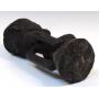 Figurilla baulé, en madera tallada, siglo XX.