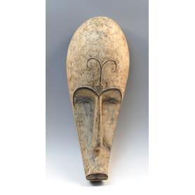 Máscara fang, originaria de Guinea Ecuatorial.