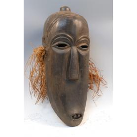Máscara se utilizaba en ceremonias de iniciación