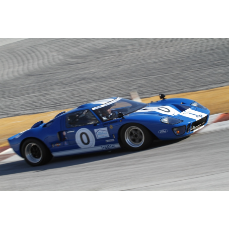 Ford GT 40. Winner of the 24 hours of Le Mans.
