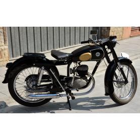 Motocicleta LUBE de 125 1956