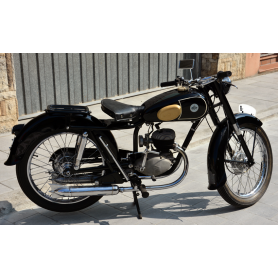 Motorcycle LUBE 125cc 1956