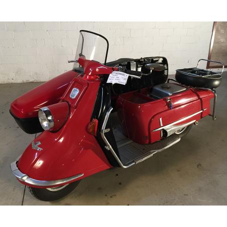 heinkel tourist 103 a2 con sidecar 200cc 1960. Black Bedroom Furniture Sets. Home Design Ideas