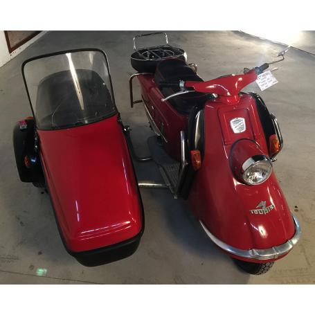 Heinkel. Tourist. 103-A2. Con sidecar. 200cc. 1960.
