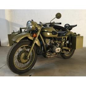 MTTE-URAL. 750cc. M75. 1944. Motor:BMW.