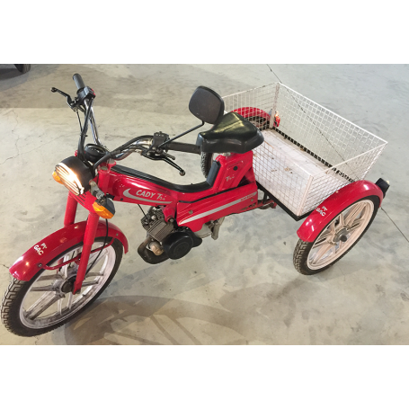 CADY-Tri. 750cc. Bicyclette. Moto-GAC.
