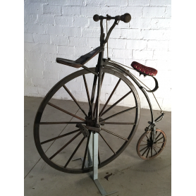 Velocipede collection. Circa:1900.
