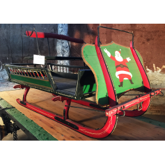 Sled. Central Europe. Circa:1950-60.
