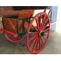 Carro de tracció animal. Rústic. Al voltant de l'any:1900-10.