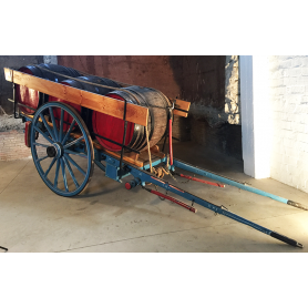 Carriage of animal traction. Rustic. Bocoi. Circa:1900-10.