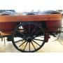 Transporte de animais de tracción. Rústico. Bocoi. Circa:1900-10.