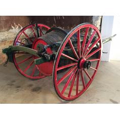 Wagen ziehen tieres. Rustikal. Bocoi. Circa:1900-10.