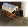 Tartana-obert carro de tracció animal. Al voltant de l'any:1920-30.