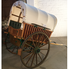 Tartana-open cart of animal traction. Circa:1920-30.