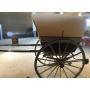 Tartana, ou coche, pechado, animal de tracción. Circa:1920-30.