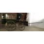 Transporte de recollida de animais de tracción. Circa:1890-1900.
