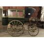 Chariot de collecte, de traction animale. Circa:1890-1900.