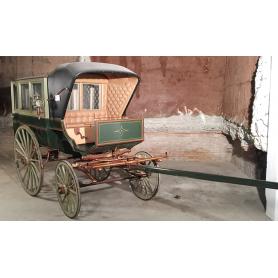 Carro de recollida, de tracció animal. Al voltant de l'any:1890-1900.