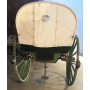 Tartana, ou carro, aberto, animal de tracción. Circa:1920-30.