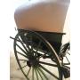 Tartana, o carro, obert, de tracció animal. Al voltant de l'any:1920-30.