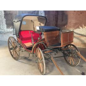 Buggy, colección de animais de tracción. Circa:1890-1900.