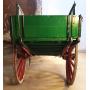 Le transport de la traction animale. Rustique. Circa: 1930-1940.