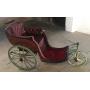 Tricycle pour les invalides ou handicapés. Rustique. Circa:1900-10.