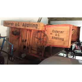 Máquina Batre. Esterer. AG. Altötting. Rústico. Circa:1889.
