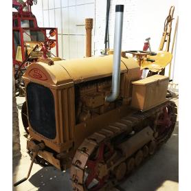 Tractor Schneider. Les cadenes. Meitat s.: XX.