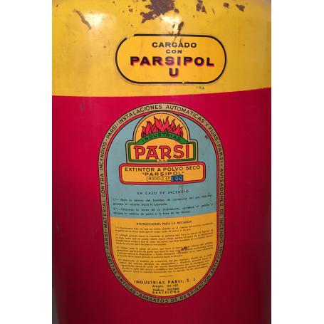 Parsipol. Extinguisher industrial wheels. Circa: 1960.