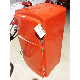 VOLTA. Réfrigérateur glace polychrome. Circa: 1960.