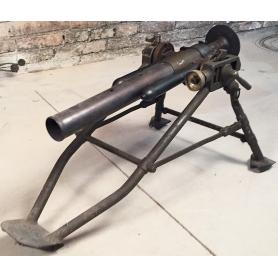 Mortier léger, de l'armée de terre. (Scellé par la guardia civil).