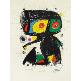 Joan Miró - Polygraphy 15 years.