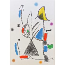 Joan Miro - Wunder mit variationen acrosticas 16