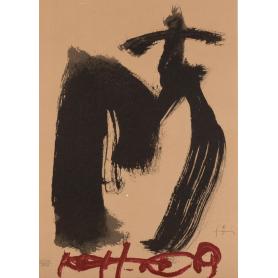 Antoni Tàpies - M. Ojos y Cruz