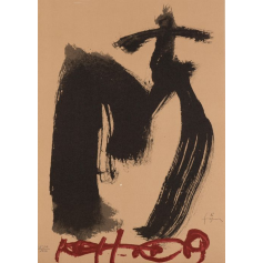 Antoni Tàpies - M. Augen und Kreuz