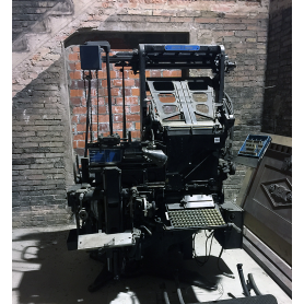 Linotype. Modelo de 5. Meteoro. 1967.