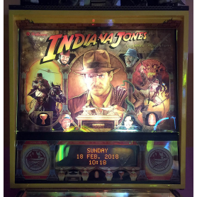 Pinball. Indiana Jones.1993. From Willians.